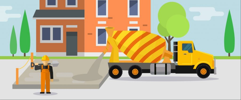 how to lay a concrete drive